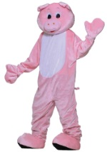 Deluxe Mr. Oinks Pig Mascot Costume