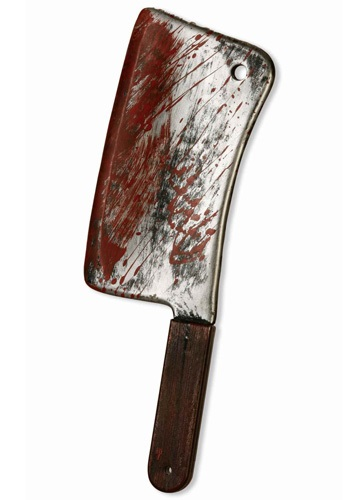 Bloody Meat Cleaver