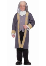 Kids' Benjamin Franklin Costume