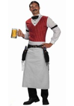 Western Saloon Bartender Costume
