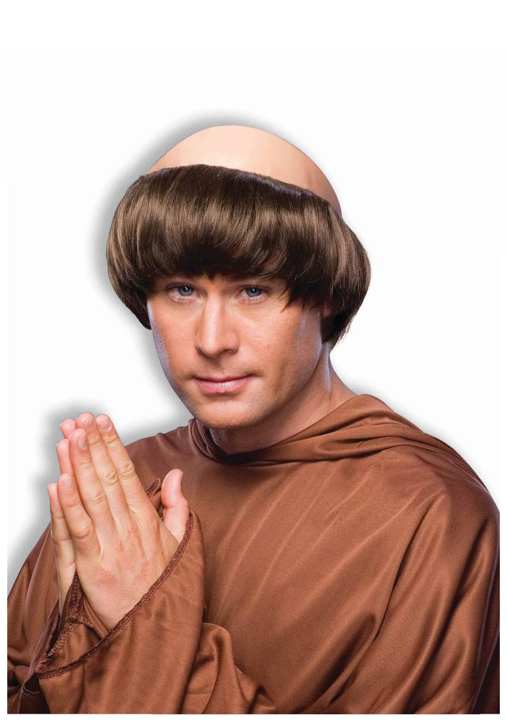 Pious Monk Wig  sc 1 st  Halloween Costume & Pious Monk Wig - Menu0027s Monk Religious Costumes and Accessories