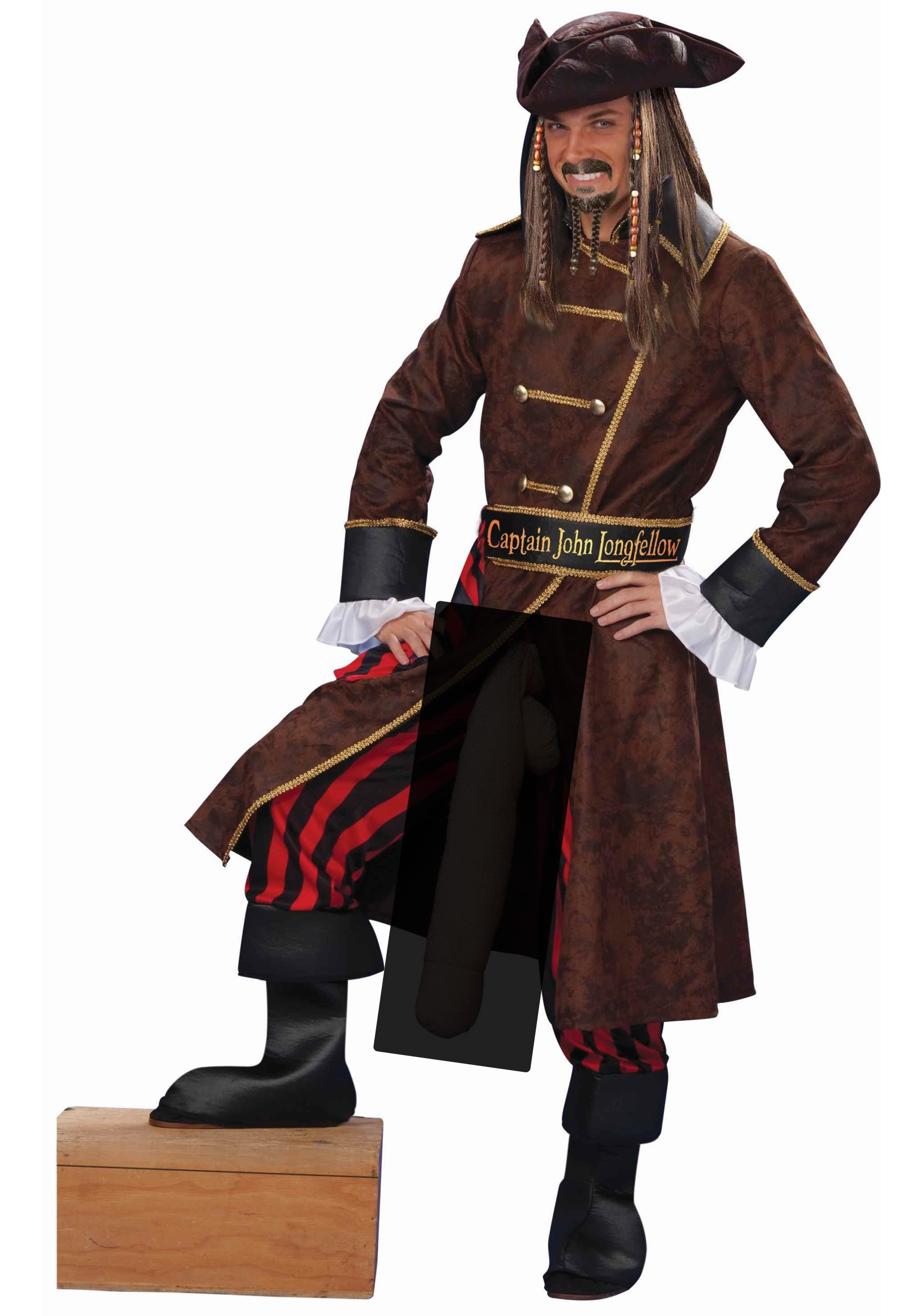 The Captain Longfellow costume is an adult humor costume for men who have ...