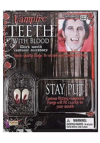 Bloody Vampire Fangs