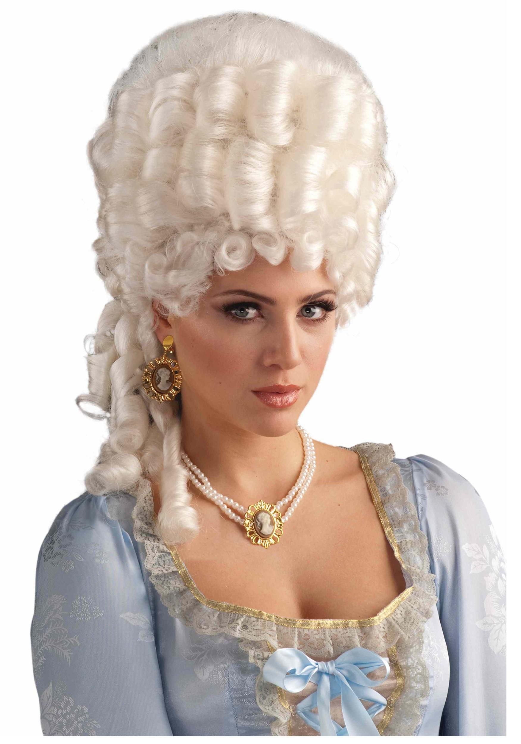 4f7cc6b17ef370 Marie Antoinette Powdered Wig - Marie Antoinette Costumes