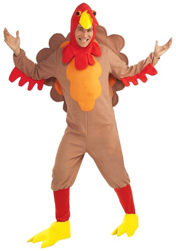 Mr. Gobbles Fleece Turkey Costume
