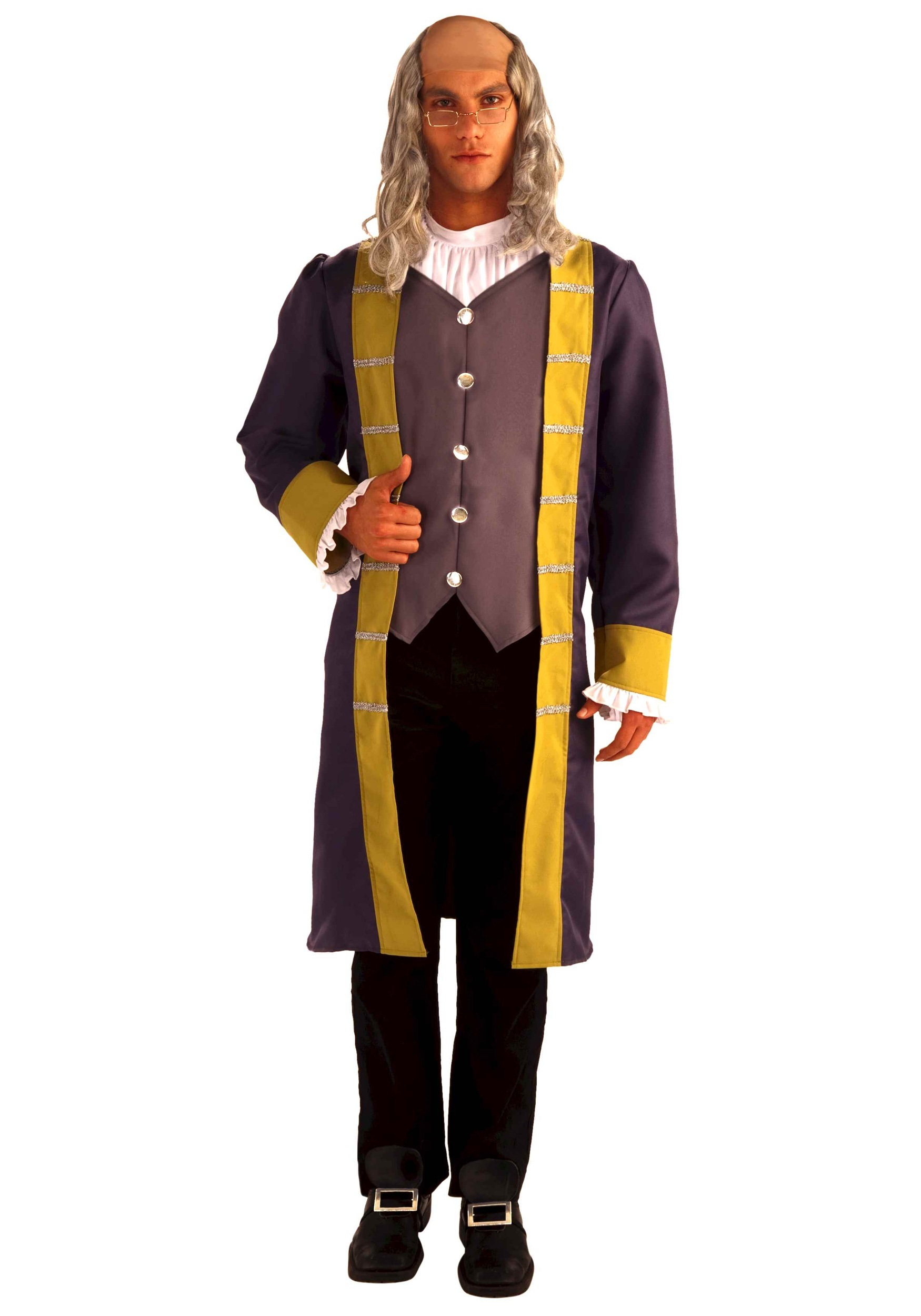 historical benjamin franklin costume