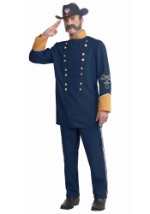 Mens Union Officer Costume
