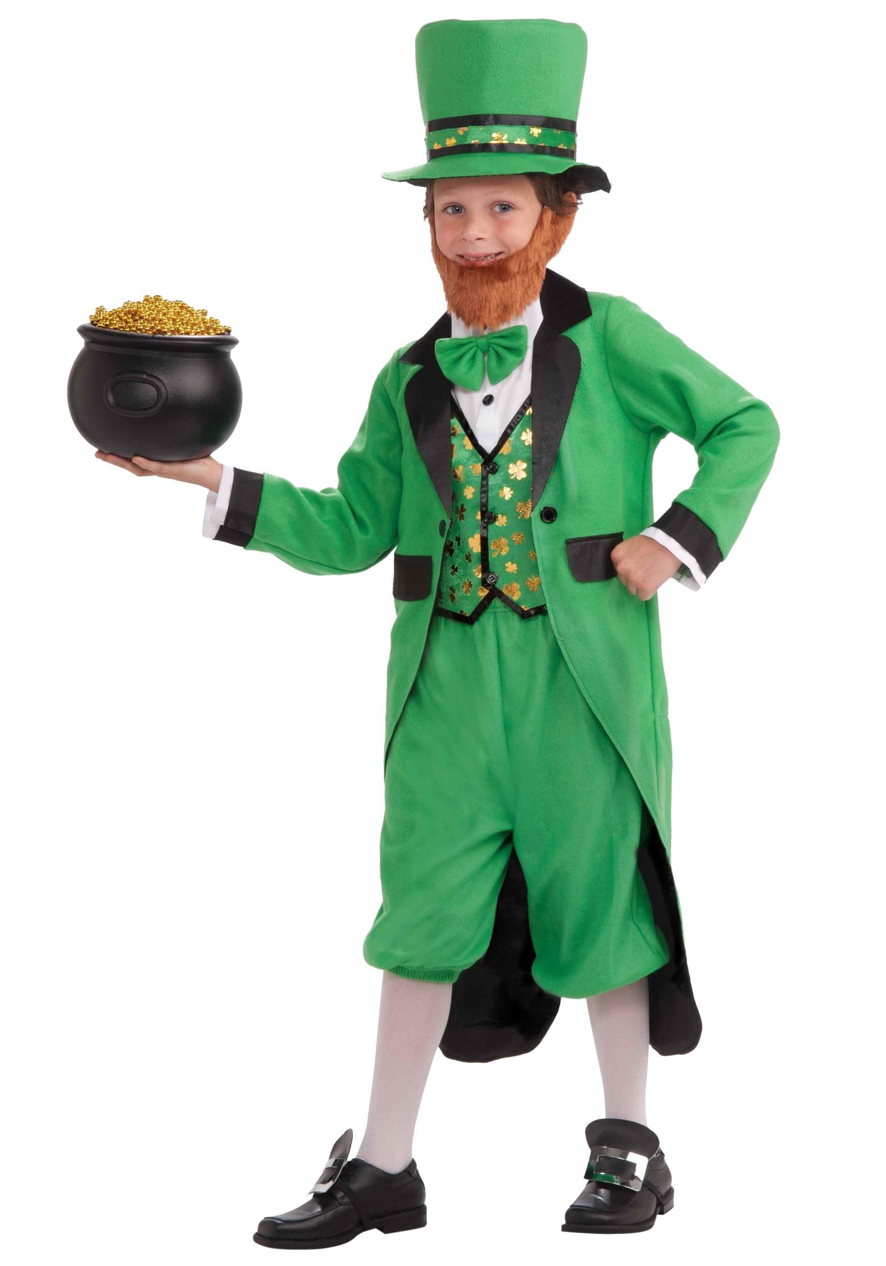 Kids Lucky Leprechaun Costume  sc 1 st  Halloween Costume & Kids Lucky Leprechaun Costume- Boys St. Patricks Day Costume Ideas