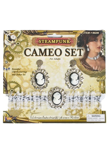 Steampunk Cameo Jewelry