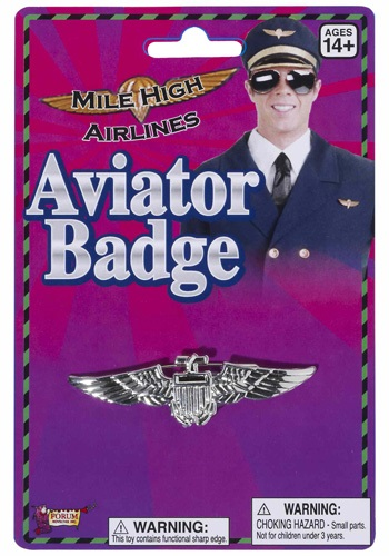 Mile High Airlines Aviator Badge