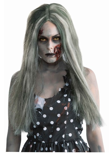 Creepy Dark Zombie Wig
