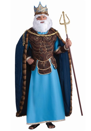 Greek God of the Sea Costume