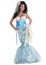 Magical Seashell Mermaid Costume