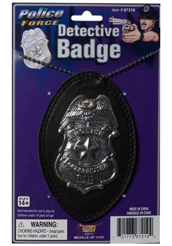 Cop Detective Badge