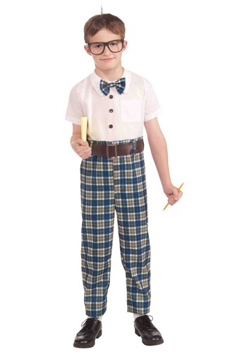 Child Lil Class Dork Costume