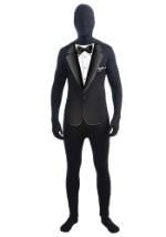 Black Tie  Zentai Suit