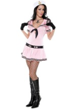Pink Sailor Girl Costume