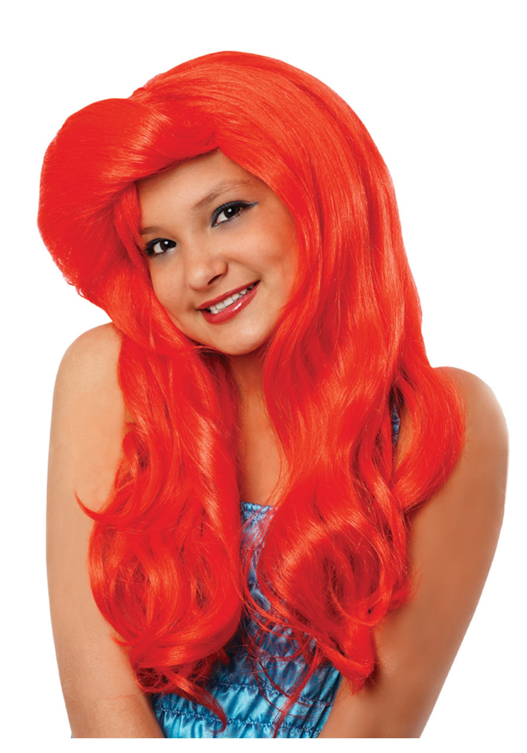 child mermaid wig - little mermaid ariel costume accessories