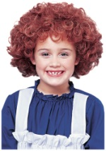 Little Red Orphan Wig