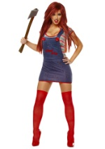 Womens Sexy Childs Play Chucky Costume