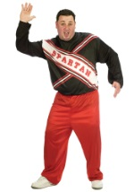 Mens Plus Size SNL Spartan Cheerleader Costume