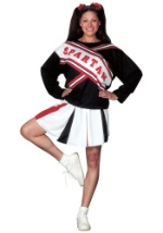 Female Spartan Cheerleader