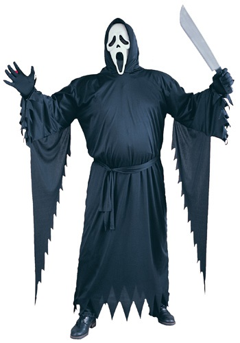 Plus Size Ghostface Scream Costume