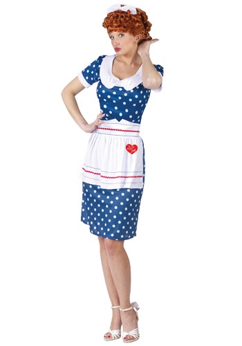 Ladies I Love Lucy Costume