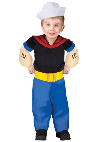 Toddler Popeye the Sailor Costume