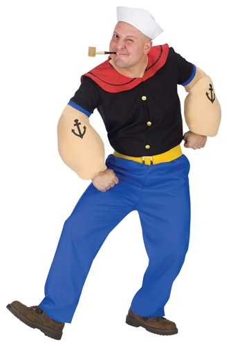 Popeye the Sailor Man Costume