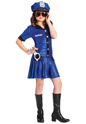 Girls Police Officer Uniform