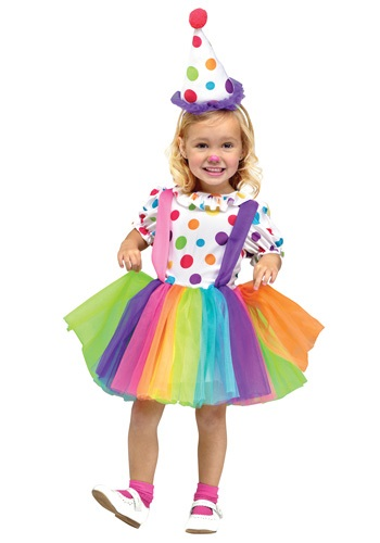 Child Big Top Fun Clown Costume