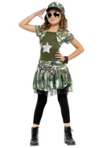 Girls Military Brat Costume