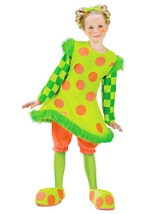 Girls Lolli the Clown Costume