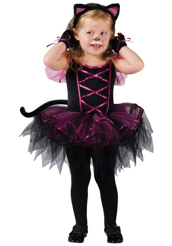 Cat Ballerina Toddler Costume
