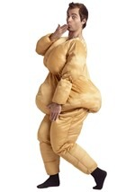 Funny Fat Suit Costume