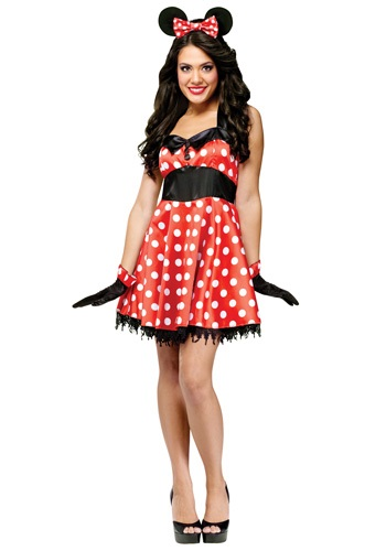 Miss Mouse Polka Dotted Costume