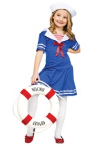 Girls Sweet Sailor Costume