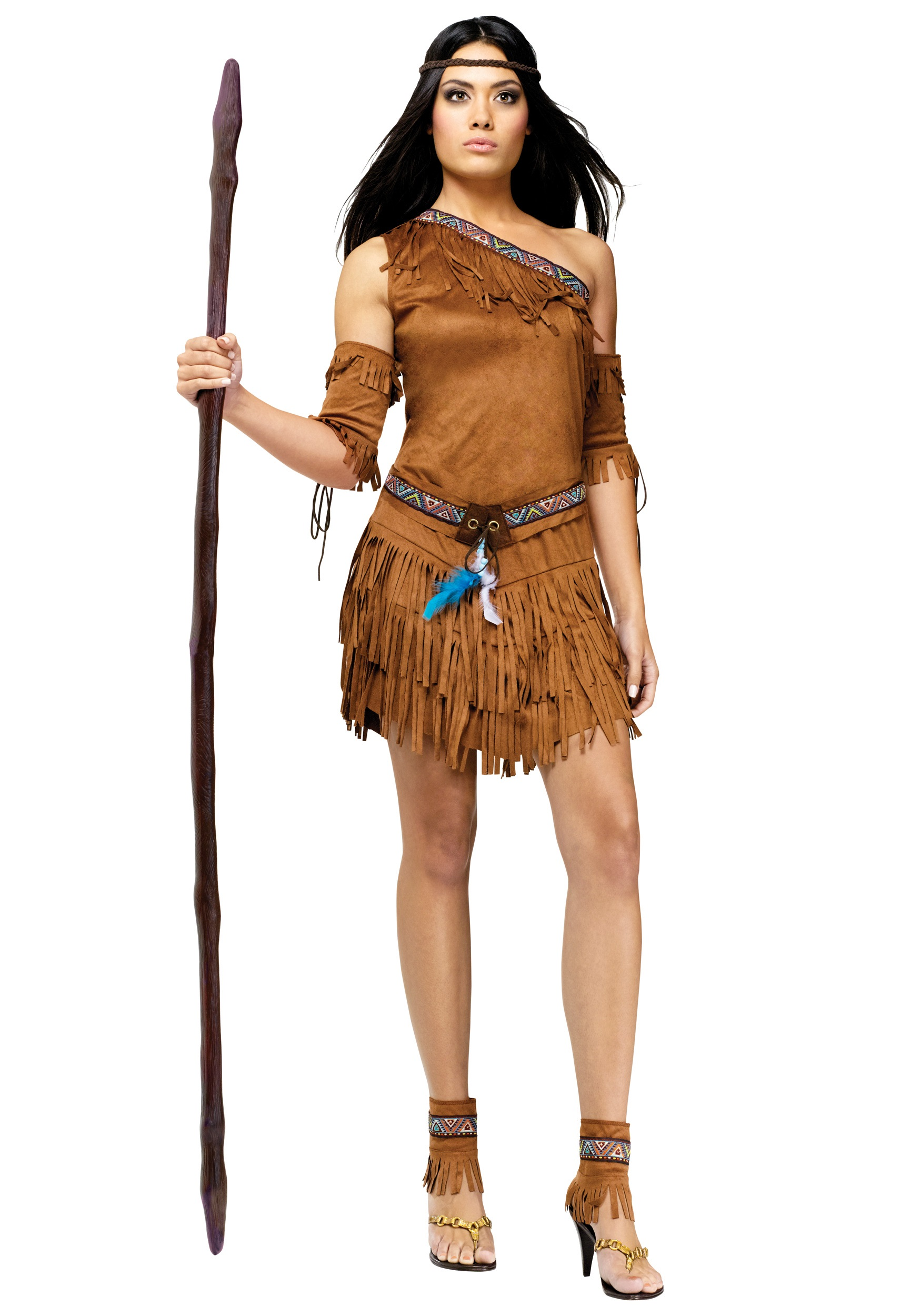 wow the pow wow indian costume - womens native american costume ideas