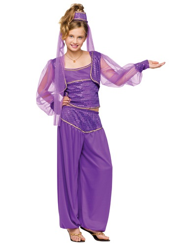 Girls Magical Genie Costume