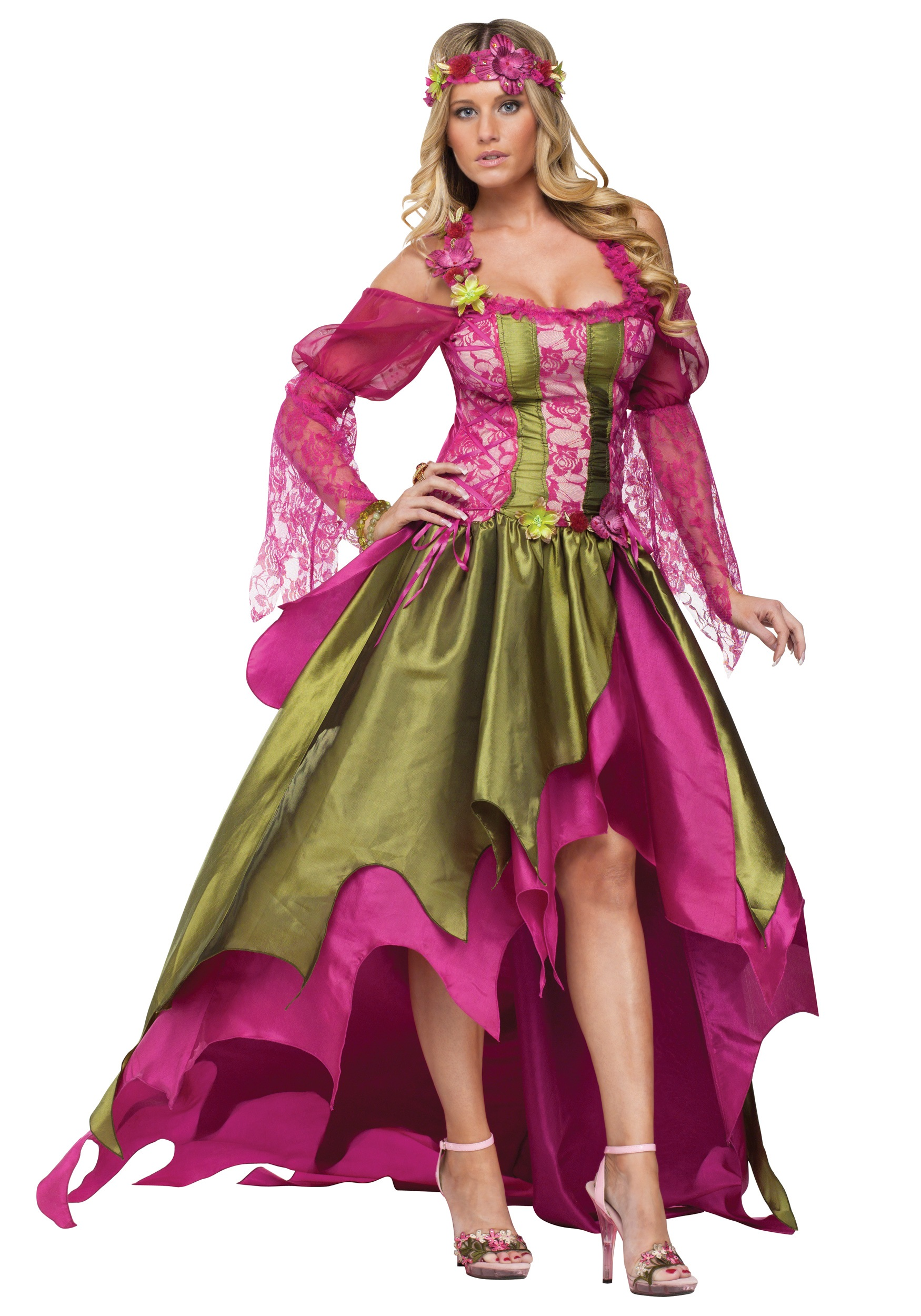 Garden Fairy Costume Fairy Costumes For Women Renaissance Costumes