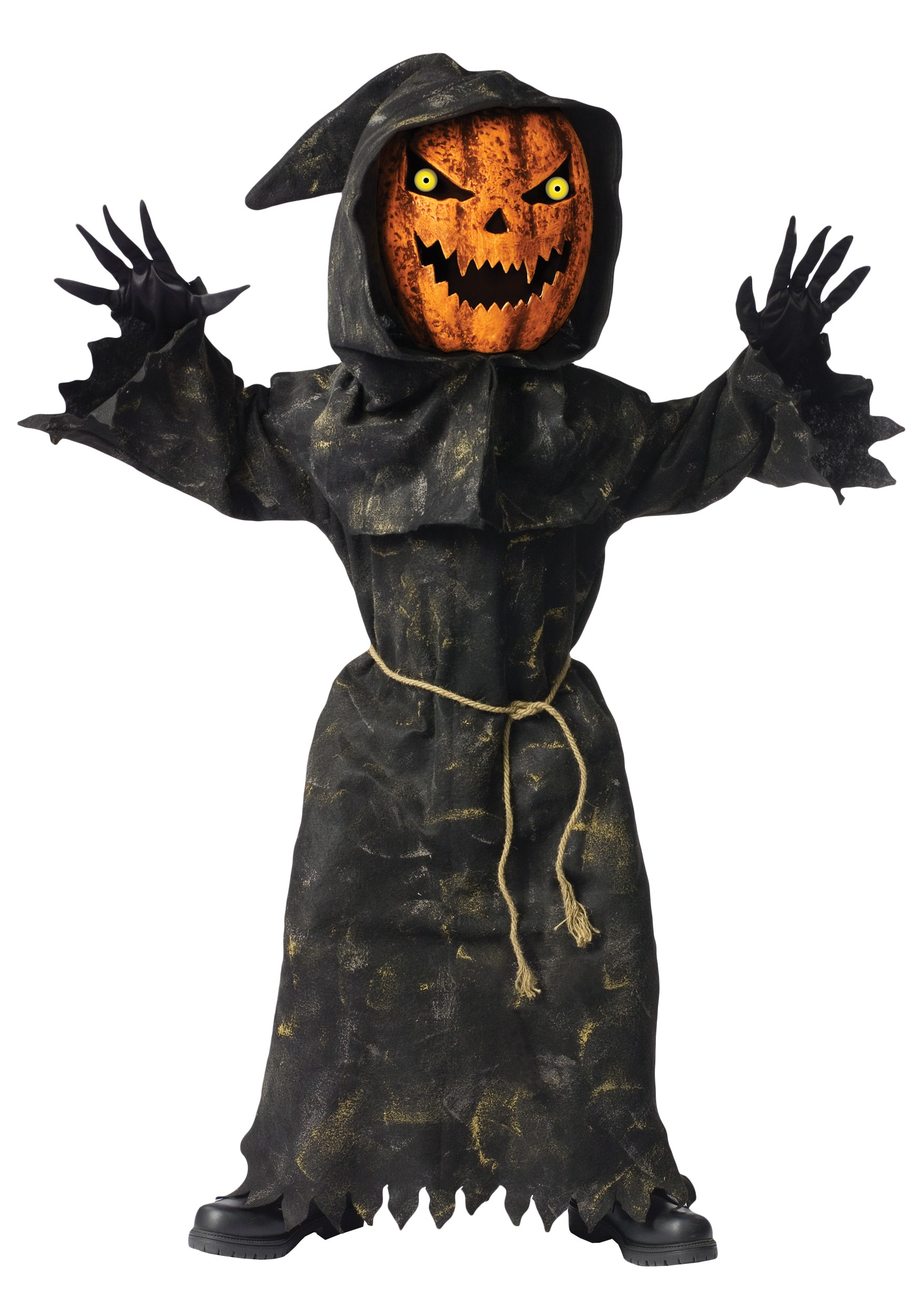 bobble eye pumpkin child costume - Scary Halloween Costumes For Children
