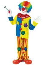 Boys Big Top Clown Costume