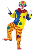Plus Size Circus Clown Costume