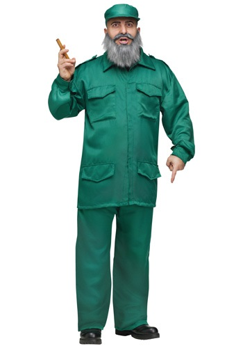 Adult Fidel Dictator Costume