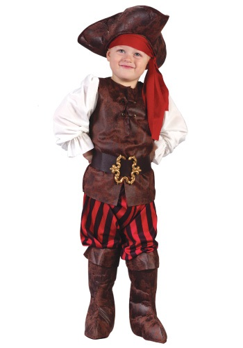 Seven Seas Toddler Pirate Costume