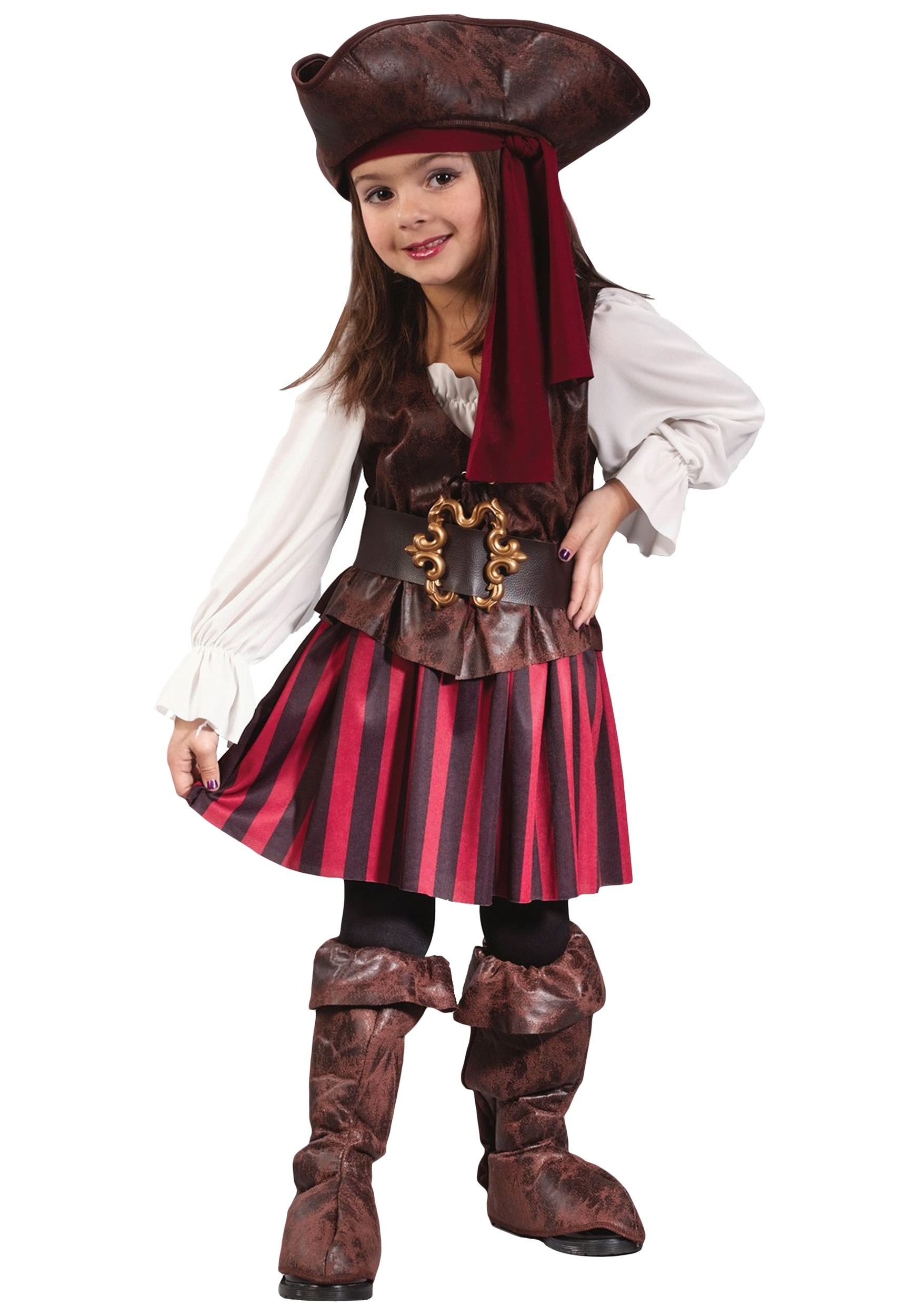 Toddler Girl Scarecrow Halloween Costume Girls Toddler Pirate Costume