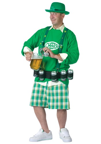 Mens Cheers and Beers Costume