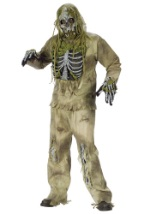 Decaying Skeleton Zombie Costume