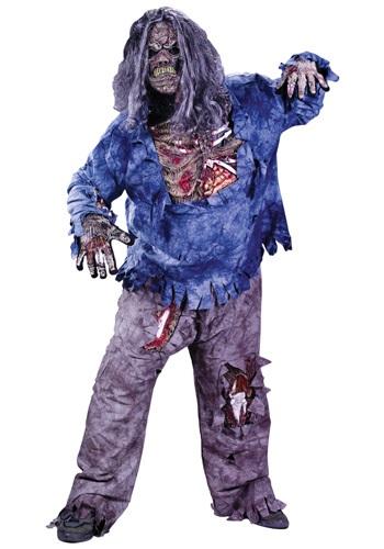 Plus Size Rotten Zombie Costume